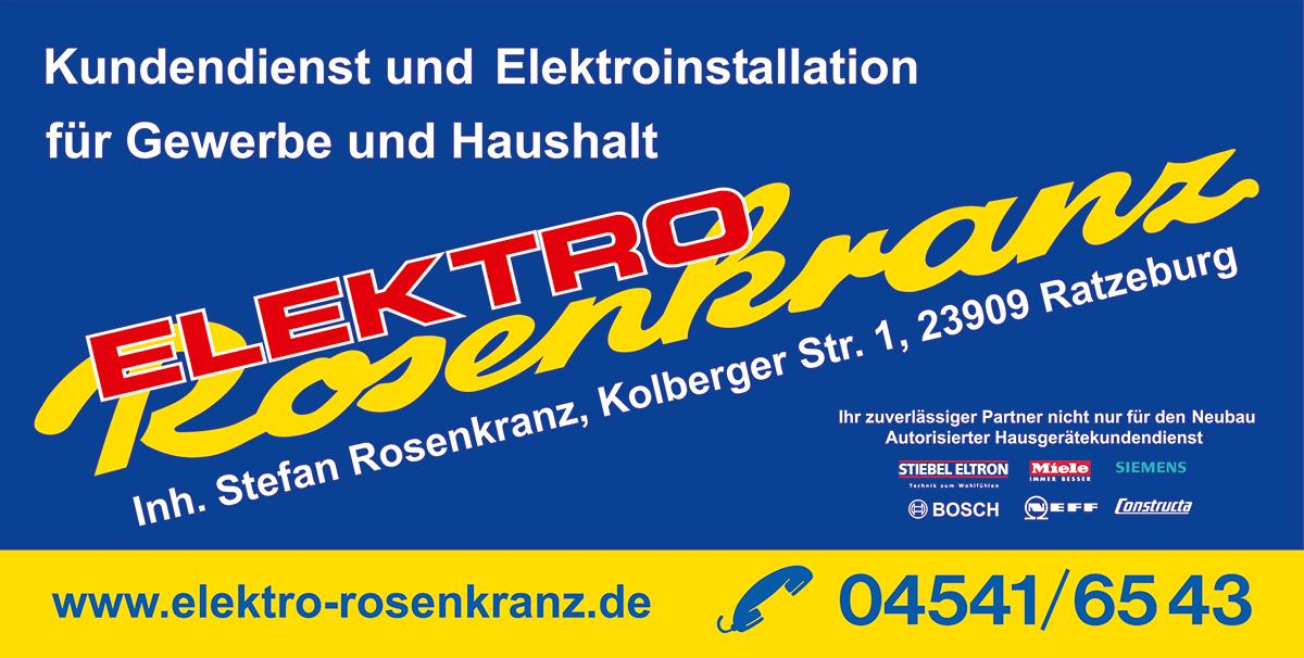 Elektro Rosenkranz - Partner und Fachleute rund um die Gebäude-, Elektroinstallation und Systemtechnik